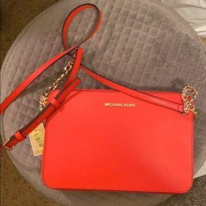 Michael Kors Coral Handbag Crossbody